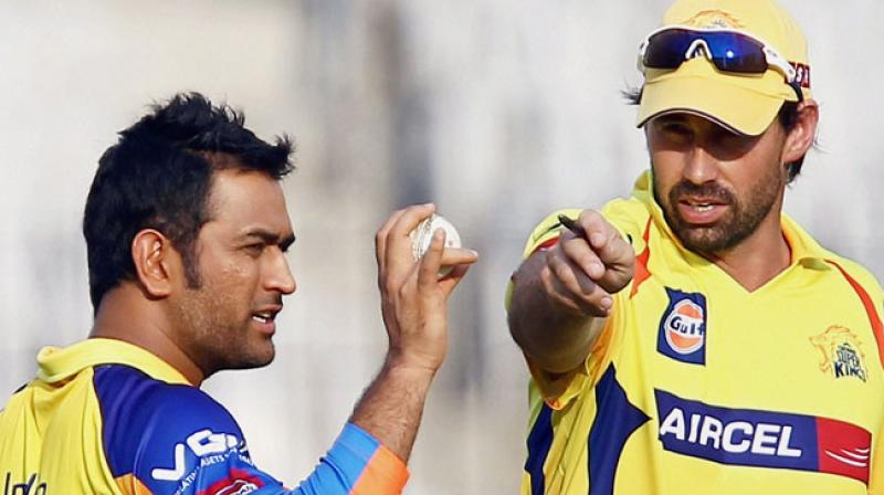After retaining former India skipper MS Dhoni and teaammate Suresh Raina, Indian Premier League (IPL) franchise Chennai Super Kings (CSK) have confirmed former Kiwi captain Stephen Fleming as their head coacxh for the upcoming season.(Photo: PTI)