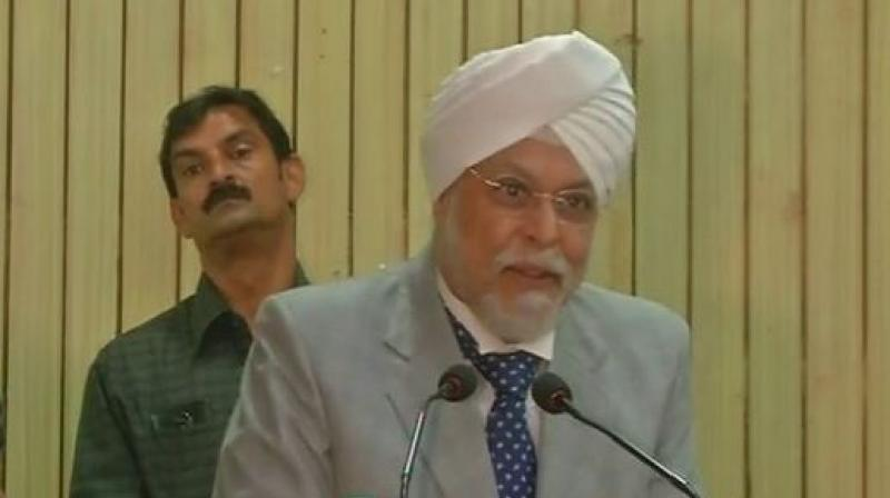 Chief Justice of India J S Khehar. (Photo: ANI/Twitter)
