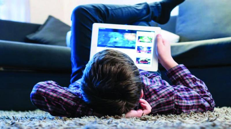Anecdotally, it is common knowledge that young children these days are addicted to games available on smart phones.