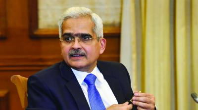 "Reserve Bank governor Shaktikanta Das pointed towards a line in the monetary policy committee resolution, which makes it ""explicitly"" clear that there is a scope for further rate cuts. (Photo: File)"