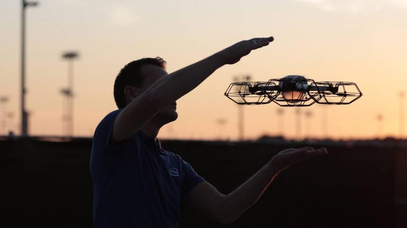Intel flies 250 drones above Las Vegas' Bellagio casino