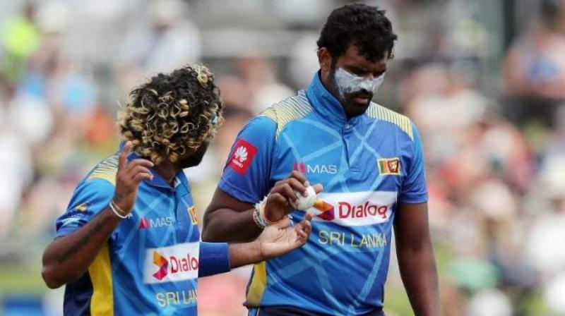 Thisera Perera endured a frustrating spell since clubbing a match-winning six to clinch Sri Lanka's maiden Twenty20 World Cup title in 2014 but has turned a corner over the last 18 months to become one of their most dependable players. (Photo: AFP)