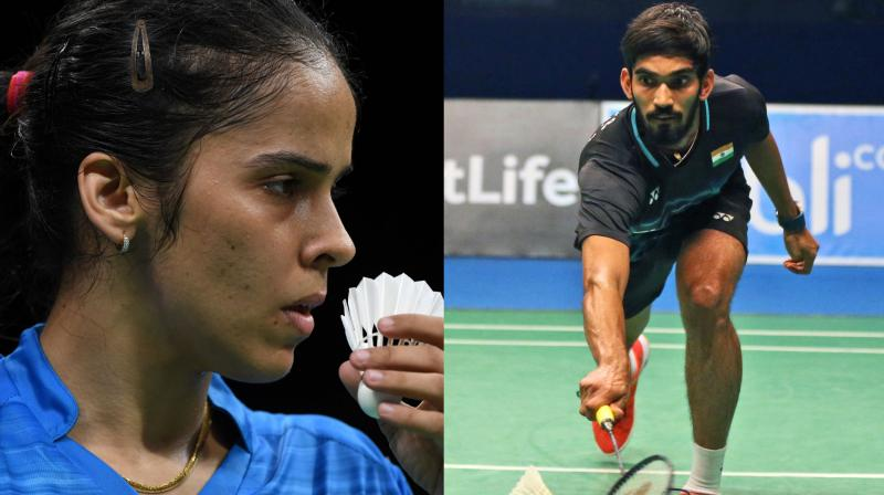 n the next round, Saina will take on Denmark's Line Hojmark Kjaersfeldt, while Srikanth will face Asian Games gold medallist Jonatan Christie. (Photo: AFP / AP)