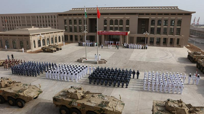 China said it was the United States who misbehaved. (Photo: AFP)