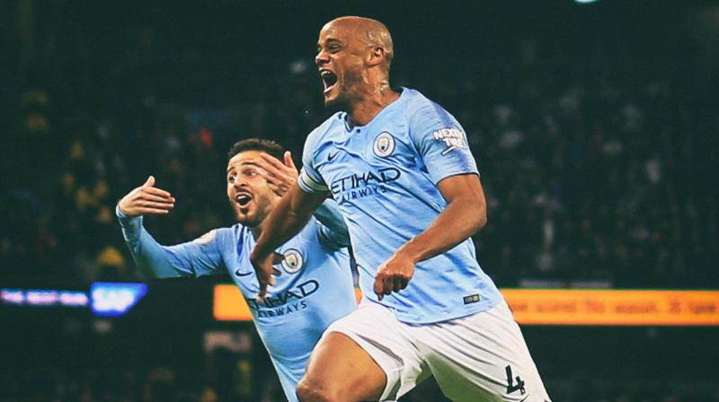 City are on top of the table with a one point advantage over Liverpool, who host Wolverhampton Wanderers on Sunday and know that their only chance of winning the title is if City stumble on the south coast. (Photo: Manchester City/ Twitter)