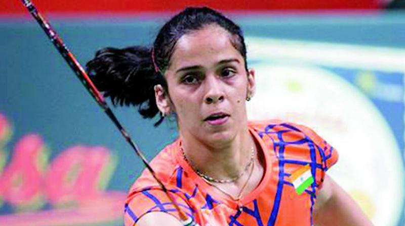 Wang stretched Saina in the second game which the Indian won 23-21. There was no fightback from the Indian in the decider as Wang won eight consecutive points to win it easily. (Photo: File)