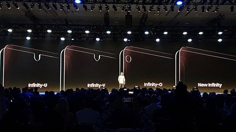 The New Infinity could be limited to flagship smartphones while the notched designs could make it to more affordable handsets.