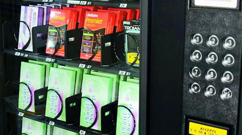 Beliebt Bevorzugt Morning after pills in vending machine &TV_91