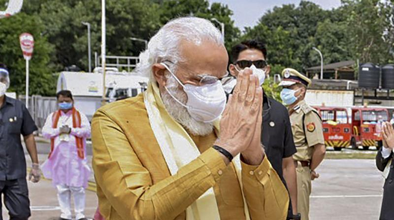 PM Modi fires a Ram arrow at China