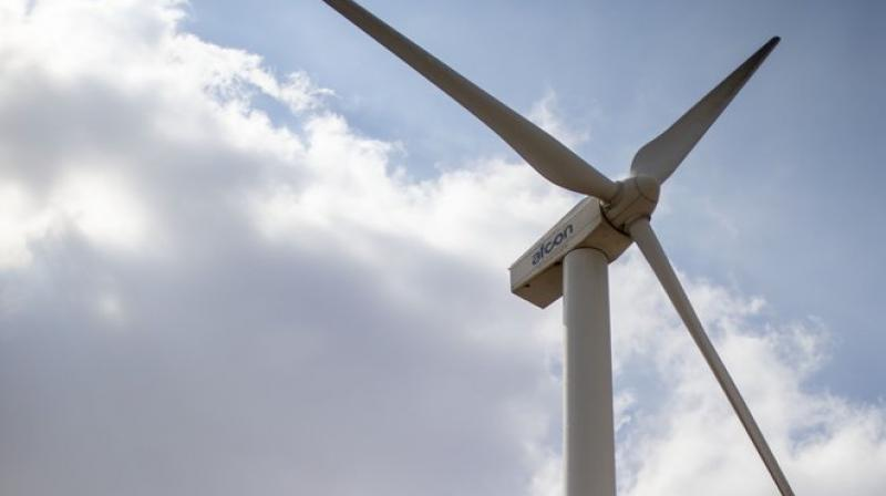 The turbines seem to hinder villagers' agrarian way of life.  (Photo: AP)