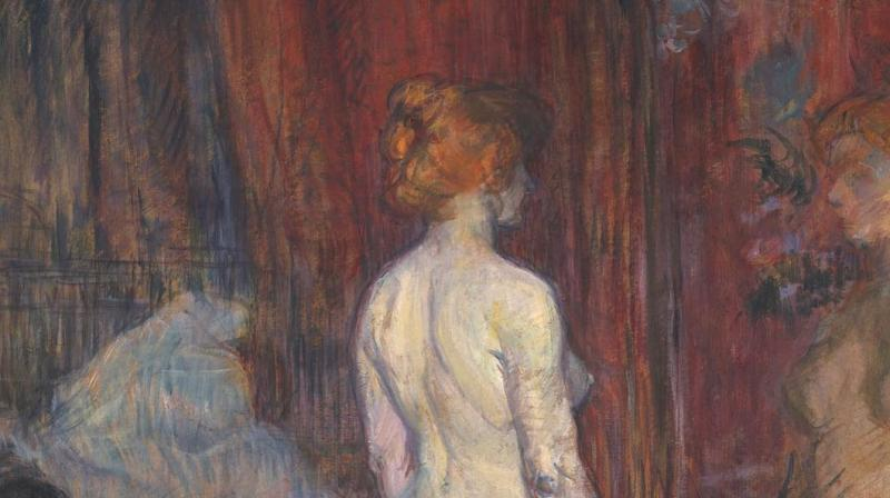 Woman before a Mirror by Henri de Toulouse-Lautrec, 1897. (Photo: Instagram/arthistoryfeed)
