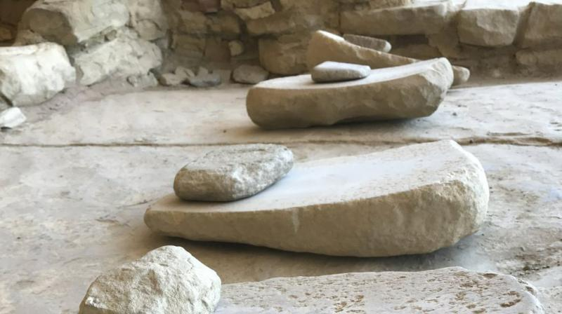 These grinding stones at Mesa Verde National Park near Cortez, Colorado will be returned. (Photo: AP)