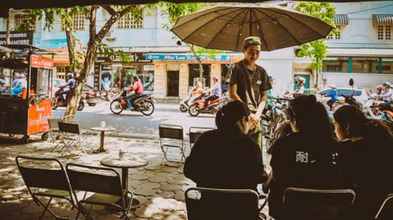 Trackside cafes are a popular attraction in Hanoi. (Photo: Representational/Pexels)