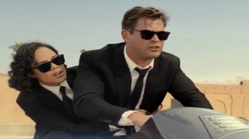 Screengrab from Men In Black: International trailer. (Photo: Instagram)
