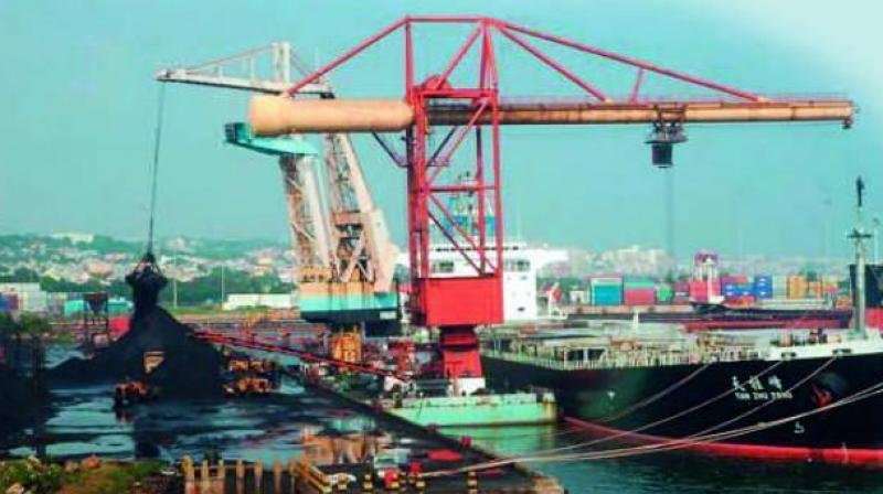 An analysis of the import data revealed that ports in Andhra Pradesh imported 35.26 per cent of the total value of petroleum coke that India imported in the first half of the last year.