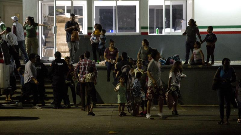 At least 1,300 mainly Cuban migrants escaped on Thursday. (Photo:AP)