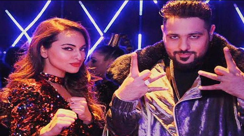 Sonakshi Sinha and Badshah. (Photo: Instagram)