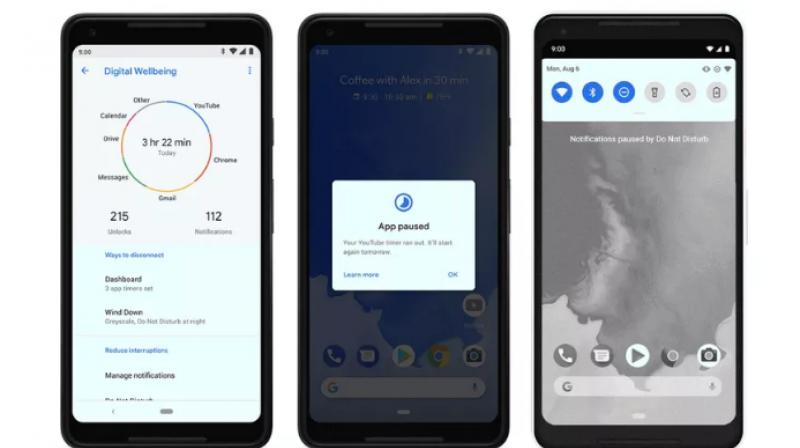 Although Google offers its own Digital Wellbeing app, OEMs are free to build their own solution.