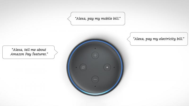 Alexa will retrieve the amount due for bills from their registered  Amazon account and ask for customer confirmation before processing the payment.