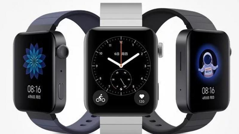 The Mi Watch is available in black and silver colour choices.