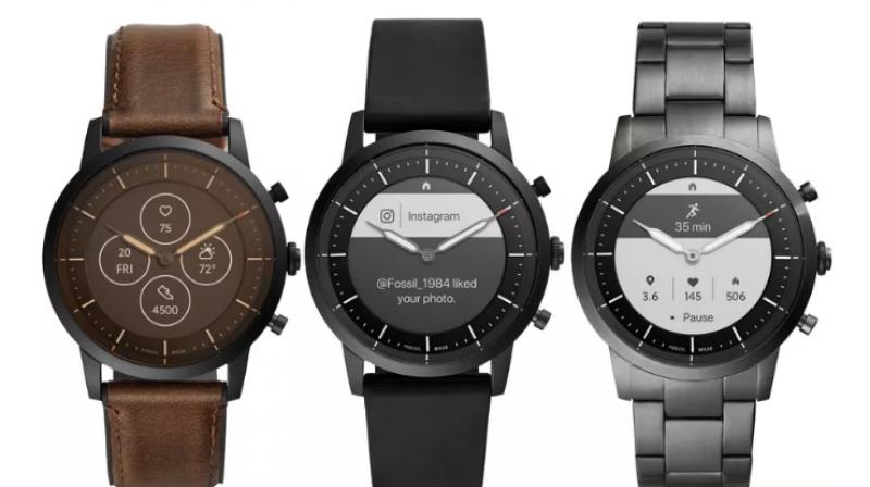 The Fossil Hybrid HR runs the company's own in-house software.