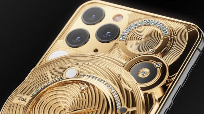 The iPhone 11 Pro Discovery Solarius is Caviar's range-leading model and it is extremely limited to just a single unit.