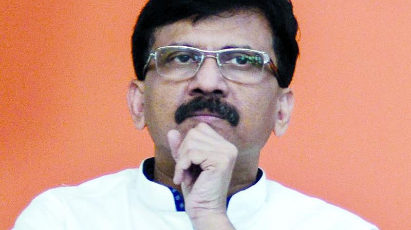 Shiv Sena leader Sanjay Raut lambasted CPM's Sitaram Yechury for his remark that 'Ramayana and Mahabharata are specimen of Hindu violence'. (Photo: File)