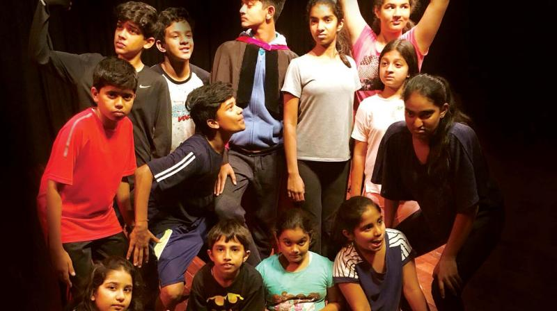Filled with song, dance and storytelling, 14 students from the programme, between the ages of seven and 15, have put the show together this year. (Photo: DC)