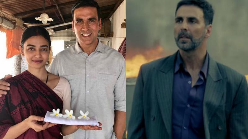 Akshay Kumar in 'Padman' and 'Airlift.'