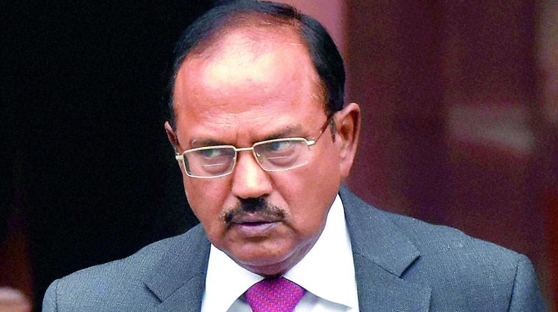 NSA Ajit Doval has been sent in Srinagar by Narendra Modi-led government to look up that local population has not been facing any problem due to the implementation of the decision. (Photo: PTI)
