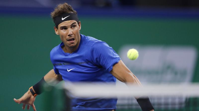 Rafael Nadal has never won the Tour Finals finishing as runner-up in 2010 and 2013 while missing 2 of the past 3 tournaments through injury. (Photo: AP)