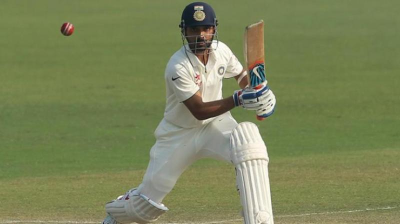 Ajinkya Rahane was a part of Team India that played the iconic 500th test match against New Zealand at Green Park Stadium in Kanpur. (Poto:BCCI)