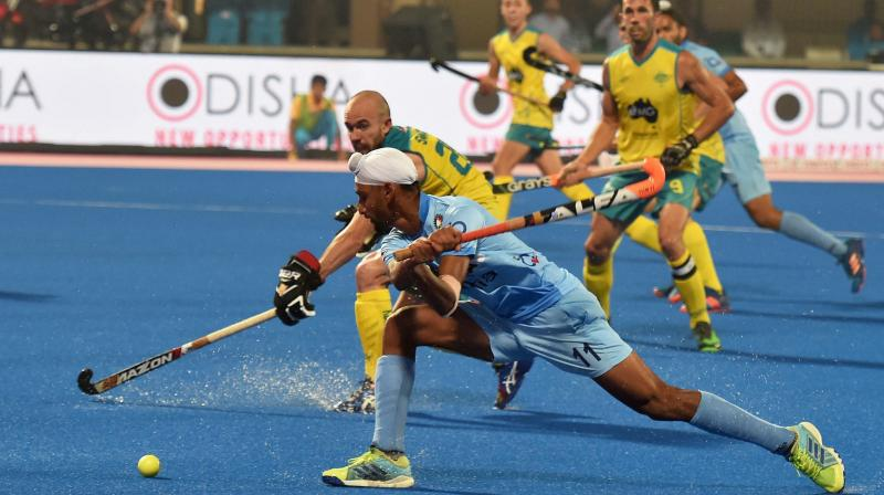 India holds defending champions Australia to draw