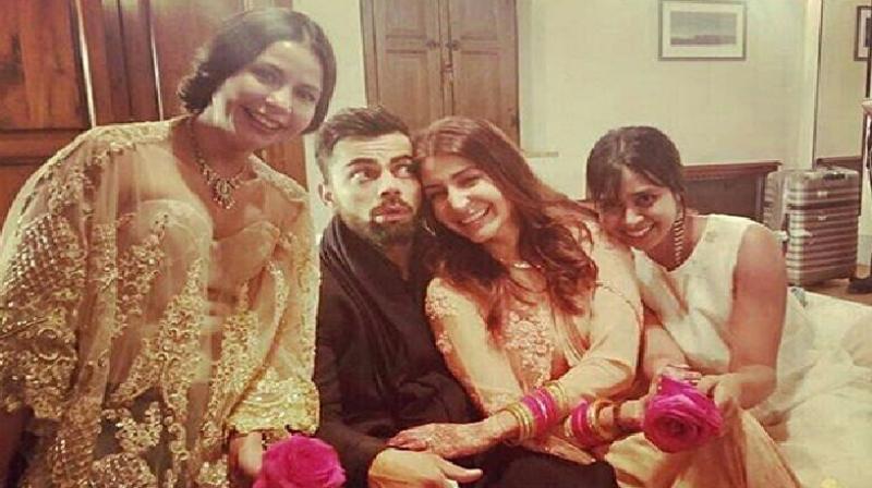 Goofy And Lovely These Virat Kohli Anushka Sharma Post