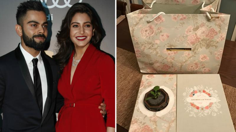 Virat Kohli Wedding.Invitation Card Venue Details Of Virat Kohli Anushka Sharma Delhi