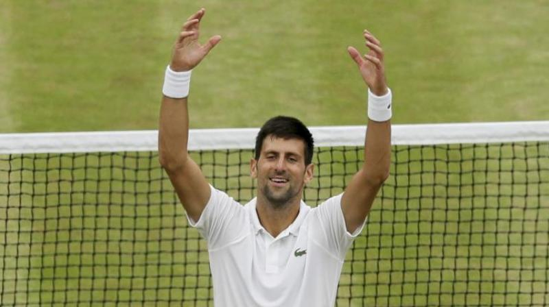 Djokovic, who has been sidelined since July with a right elbow injury, is making his long-awaited return to the game at an exhibition tournament in Abu Dhabi from December 28-30. (Photo: AP)