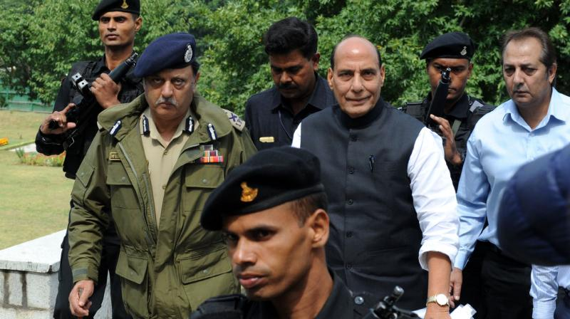 Rajnath Singh said the worst affected groups in Kashmir are the youth, the traders, workers and the poor. (Photo: DC)