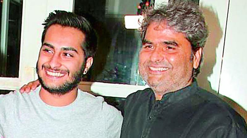 Vishal and Rekha Bharadwaj's son Aasman will soon make his foray into Bollywood as a filmmaker.