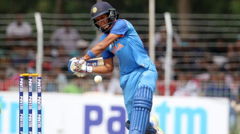 India captain Harmanpreet Kaur credited new coach Ramesh Powar for his contribution in team building process which has gone a long way in India's praiseworthy performance in the ongoing ICC Women's World T20, where they have reached semi-finals. (Photo: BCCI)