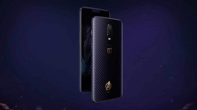 The new OnePlus 6 Avengers: Infinity War special edition unveiled in China.