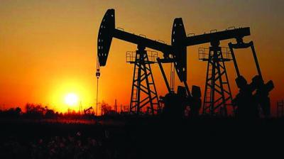 Brent futures were down 21 cents, or 0.3 per cent, at USD 63.18 by 0258 GMT.