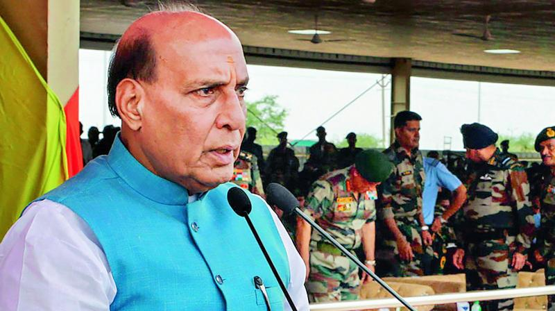 Rajnath Singh nukes 'no first use' Nuclear-policy