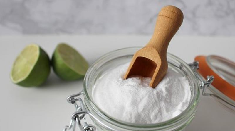 A few spoons of baking soda can help you get rid of stains. (Photo: Representational/Pixabay)