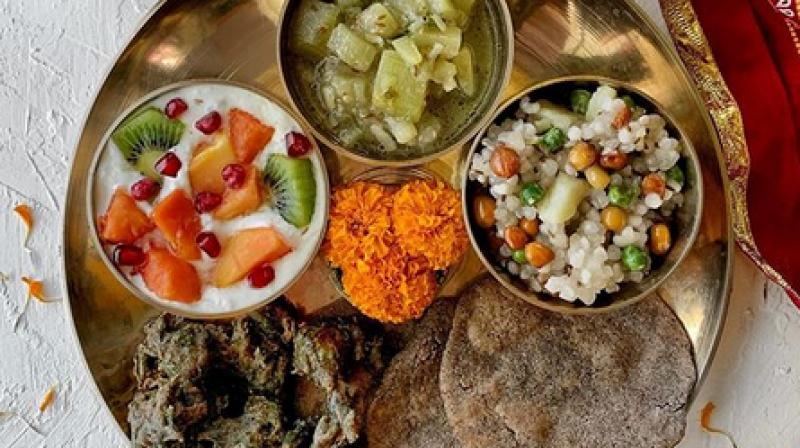 The recently concluded festival of Navratri called for some amazing thali binging. (Photo: dr.nimrata/Instagram)
