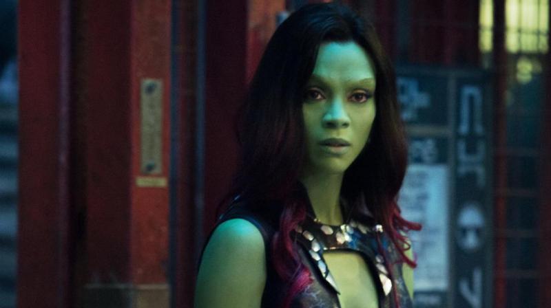 Guardians of the Galaxy star Zoe Saldana accidentally