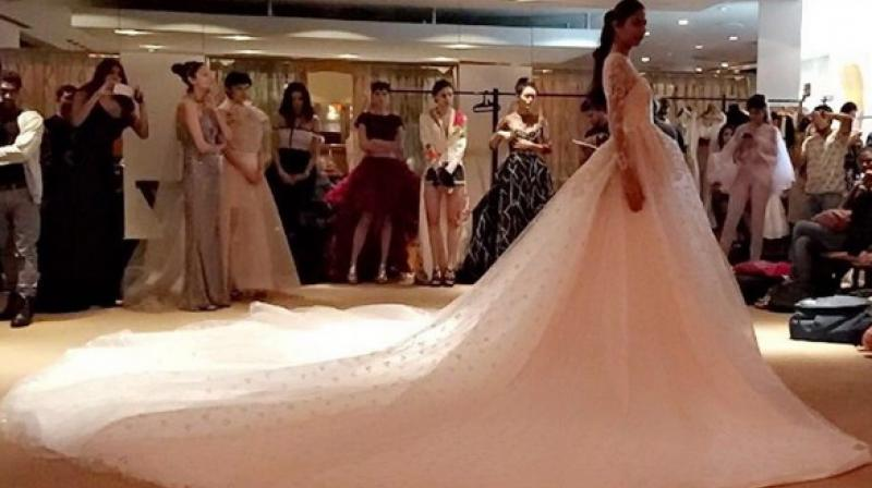 Models displaying a designer's collection. (Photo: Instagram/ @ibfw2017)