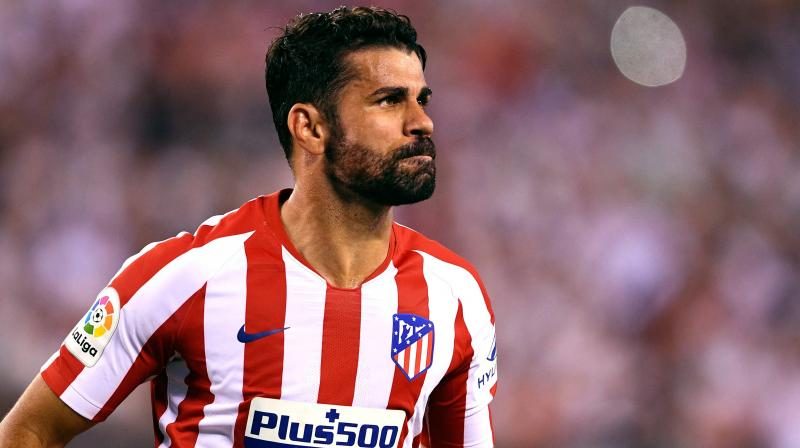 Diego Costa has started eight of his side's 11 La Liga games this season, scoring two goals. (Photo: AFP)