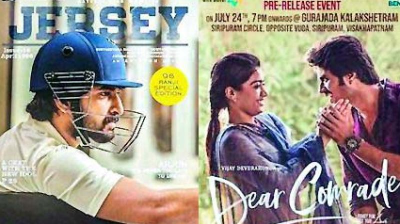 "Karan jumped the gun with Dear Comrade starring Vijay Deverakonda, but that film was not a hit. Karan may need to work on redoing the film, keeping the Hindi audience's sensibilities in mind. The film is a love story revolving around a state-level cricketer and a student union leader.  Likewise, Jersey is also the story of a cricketer who does everything to get his son an India jersey,"" says an industry source."