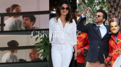 Another busy day for the paparazzi in Mumbai on Friday as stars got snapped in the city. (Photos: Viral Bhayani)