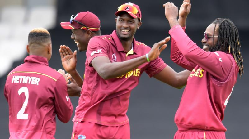 West Indies came close to winning against New Zealand when Brathwaite had hit a brilliant century, but fell short by five runs. They also suffered a narrow defeat against Australia. (Photo:AFP)